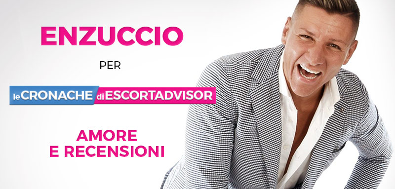 """""""Amore e recensioni"""" nel nuovo video di Enzuccio"""