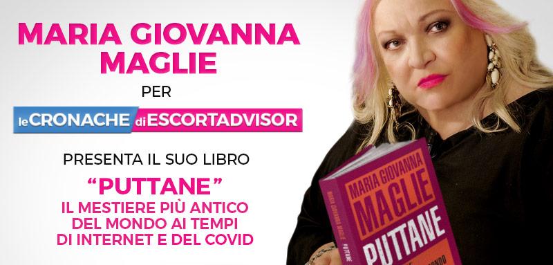 """Maria Giovanna Maglie presenta il suo libro """"Puttane"""""""