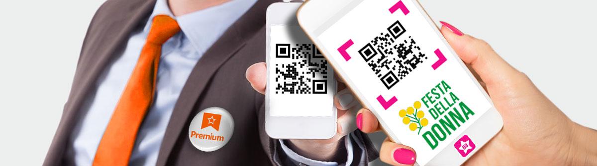 Sei un utente Premium? Entra nella tua area riservata e scarica il codice regalo per la tua escort preferita